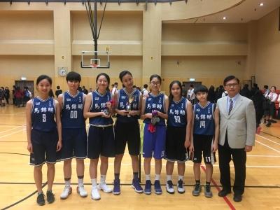 女子籃球隊勇奪學屆比賽殿軍(女子籃球隊)
