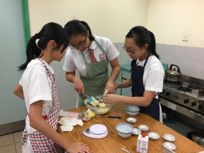健康美食烹飪比賽(家政學會)