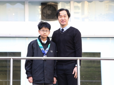 1A郭峻宏榮獲第三屆ITF CHINA 跆拳道大賽亞軍