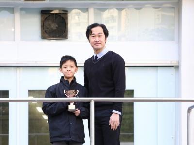 1A鍾弘傑榮獲香港學界跆拳道比賽2018中學及大專組季軍
