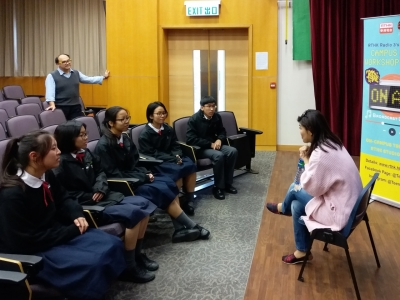 RTHK Teen Time Competition - Top 10 Broadcast Award (English Department)