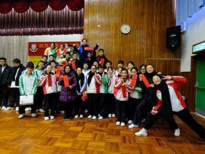 即席揮毫寫揮春比賽(中文學會)-聯課活動