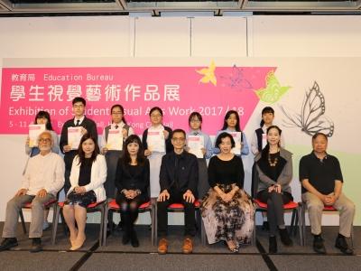 6B李伊陽於教育局學生視覺藝術作品展榮獲銀獎(視藝科)