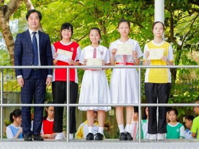 第二季優秀學生頒獎(輔導組)