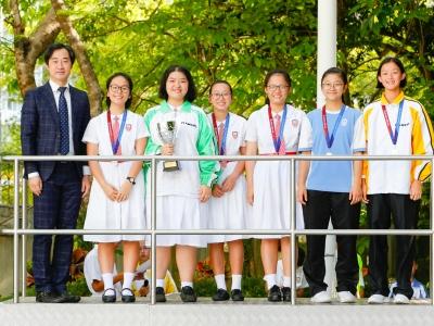 羽毛球隊於大埔及北區中學校際羽毛球比賽勇奪女乙團體亞軍(羽毛球隊)