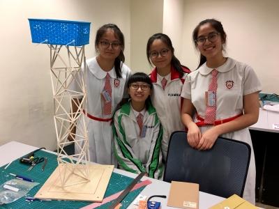 同學於香港工程師學會木塔比賽勇奪Innovative & Aesthetic Award(物理科)