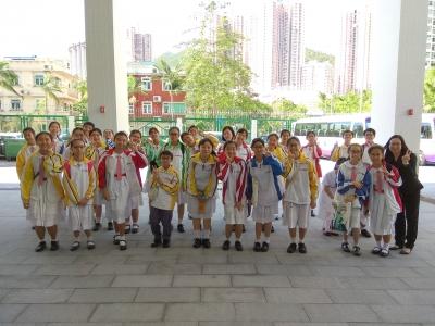 合唱團於校際音樂節比賽中榮獲優良狀(合唱團)