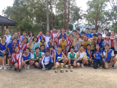 同學於中學校際越野賽勇奪多個獎項(越野跑隊)