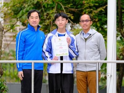4A丘子宇於香港中學第9屆保育文化徵文比賽2018榮獲高中組優異獎(中文科)