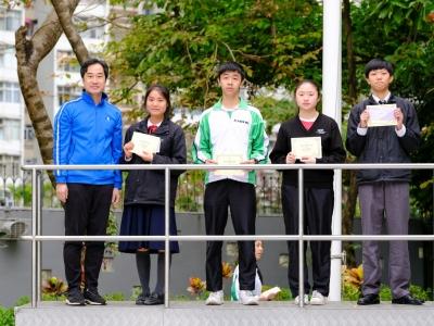 第一季優秀學生選舉頒獎(輔導組)
