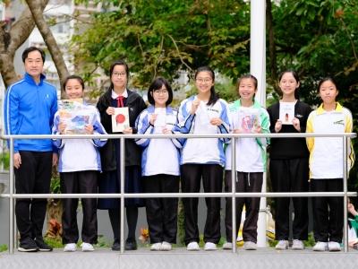 金榜提名悅讀計劃上學期頒獎(圖書館及中文科)