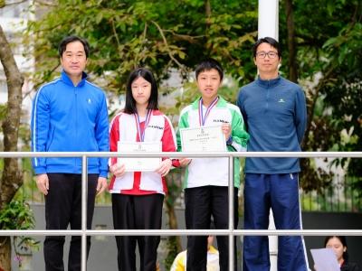 同學於分區公園定向錦標賽勇奪佳績(越野跑隊)