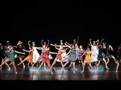 同學於第55屆學校舞蹈節勇奪乙等獎(舞蹈學會)