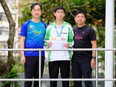 4C張冠峯於香港礦山挑戰賽2019勇奪個人公開組第六名(山藝學會)