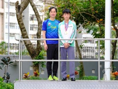 4E陳卓祈於2018-2019全港青少年野外定向錦標賽勇奪男子18歲以下組個人亞軍(野外定向學會)