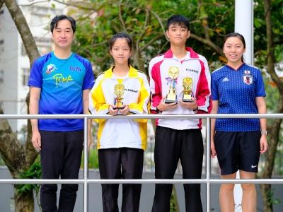 同學於2018-2019年度保良局慈善跑三公里賽勇奪多個獎項(越野跑隊)