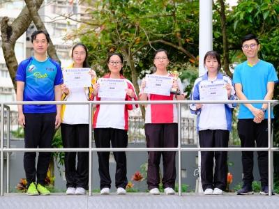同學於第十九屆和富千鿋企業家精神計劃榮獲第五名(經濟科)