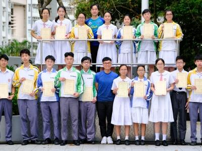 同學於「化學家在線」自學獎勵計劃2018勇奪多個獎項(化學科)