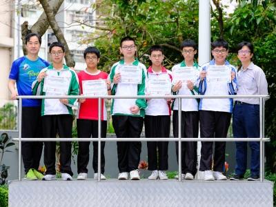 同學於環亞太杯國際數學邀請賽勇奪多個獎項(數學科)