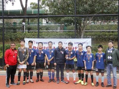足球隊於北區中學七人足球比賽2019碗賽勇奪亞軍