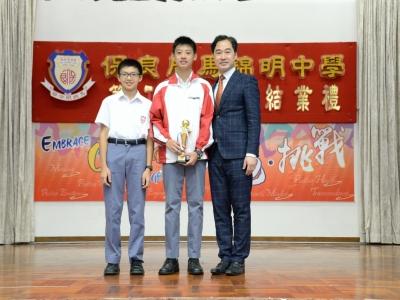 同學於北區體育會北區五人足球賽13歲以下組別盃賽亞軍