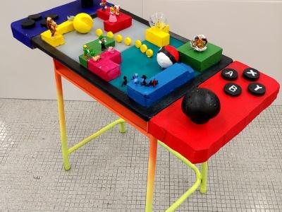 學生作品榮獲香港學生集體創作展—學校桌椅大改造—中學組傑出作品獎(視藝科)(0)-有效學習