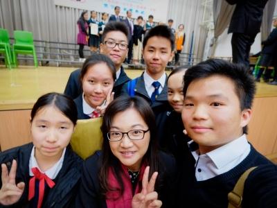 同學榮獲香港福建希望工程基金會獎學金2017