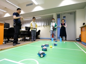 mBot足球比賽試驗工作坊(ICT學會)