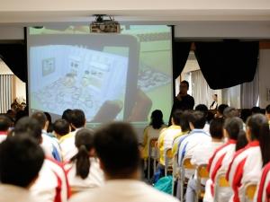 中四級藝術講座(視藝科高年級周會)