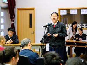 中三級班際辯論賽第一場初賽(中文科)