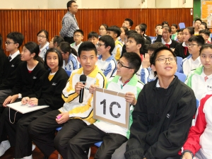 F.1 Inter-class Spelling Competition(English Week)