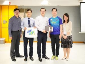 香港神託會培基書院到訪本校交流