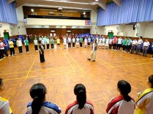 音樂劇培訓:破冰遊戲(廿五周年校慶)