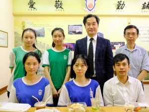 「WeChat@PoMa」校長與中六學生午膳聚會