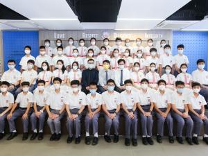 學生領袖拍照(聯課活動組)